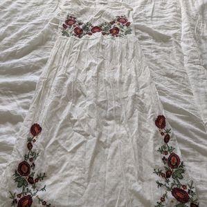 Embroidered Zara dress